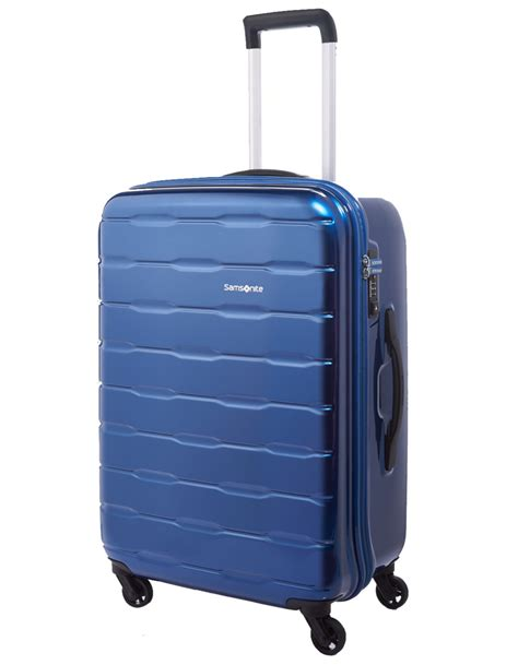 luggage trunks samsonite spin trunk luggage 66cm spinner suitcase blue
