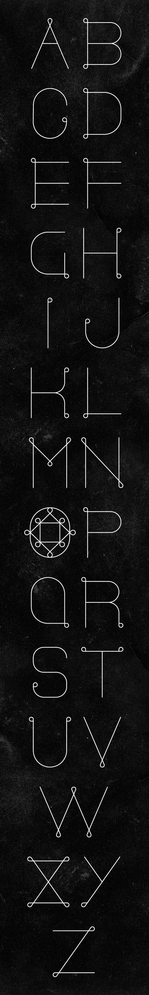 typography loop typography in the loop font by seymour via behance codesign magazine daily