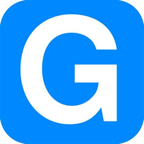 Letter G Images blue alphabet g g letter clip at clker vector