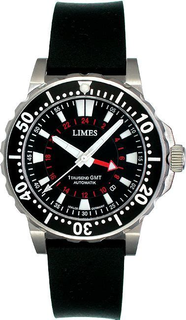 german dive watches sporty german diver limes 1 tausend gmt diving