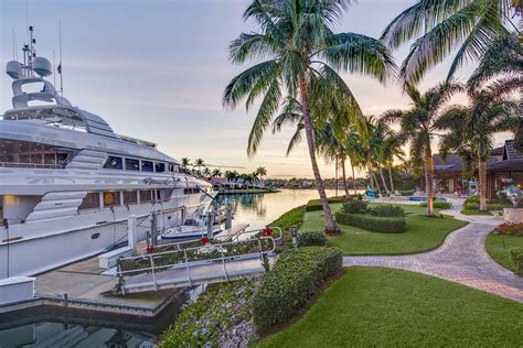 luxury waterfront home in port royal naples