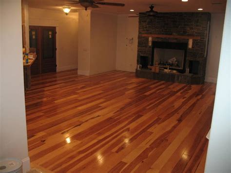 ease concerns about real hardwood floors with a