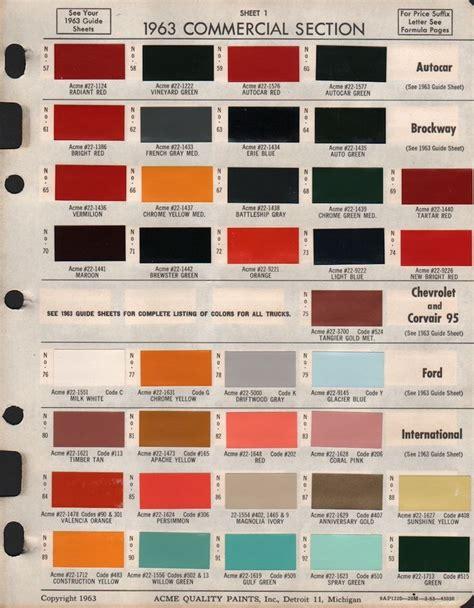 25 best paint charts images on