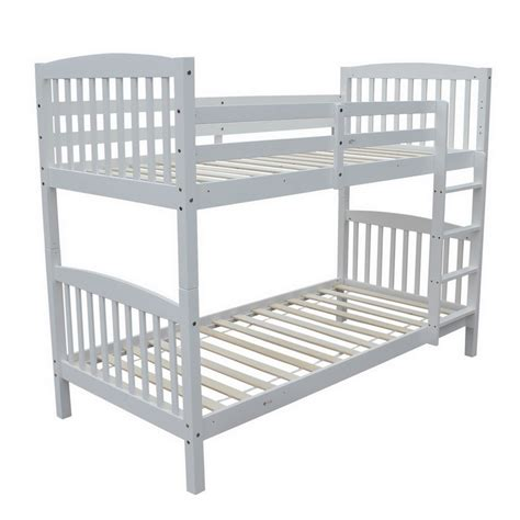 Bunk Beds Separate Into Single Beds Homegear 3ft Solid Pine Wooden Bunk Bed Can Split Into 2 Single Beds Ebay