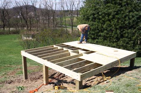 build  shed foundation   hill