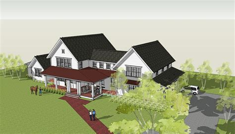 modern farm house plans ron brenner architects new modern farmhouse design completed