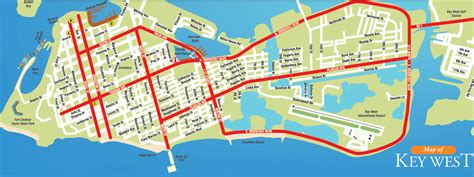 printable map key west map of key west