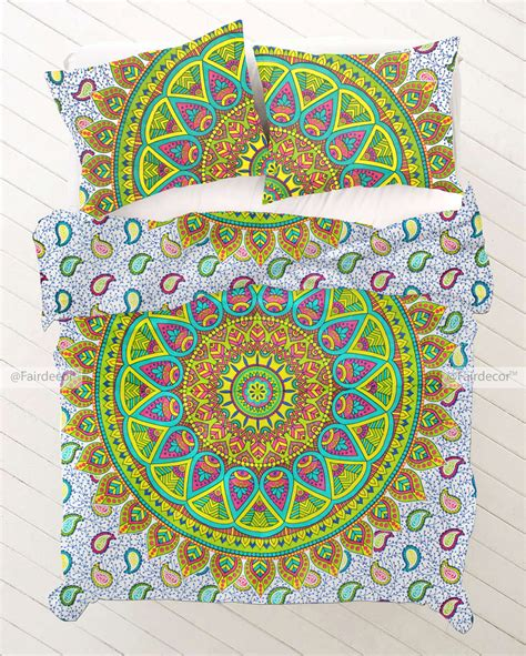 hippie bed sheets colourful hippie bed sheets hippie bed covers and pillow