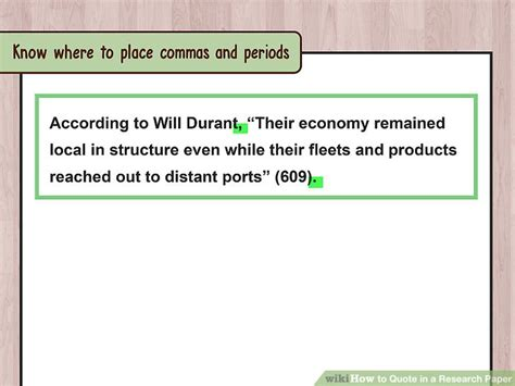 do you always put end punctuation inside quotation marks how to quote in a research paper with exles wikihow