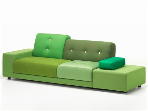 polder sofa buy the vitra polder sofa green at nest co uk