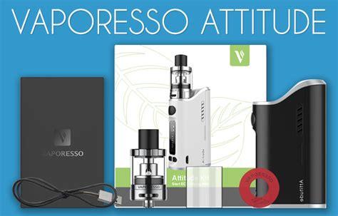 Mod Kit Vapor Vape Attitude Kit By Vaporesso 80w vaporesso attitude starter kit review spinfuel vape