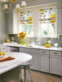 modern furniture 2014 kitchen window treatments ideas - Ideas For Kitchen Window Curtains