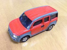 Tomica 107 Honda Element 1 60 Tomy Diecast Car Gift Orange New 1 1994 tomica no 92 s 1 60 mercedes c class type トミカ