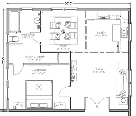 750 sq ft floor plans home addition cost