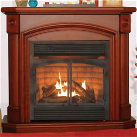 propane fireplace heater ventless heater fireplace gas propane lp mantel ebay