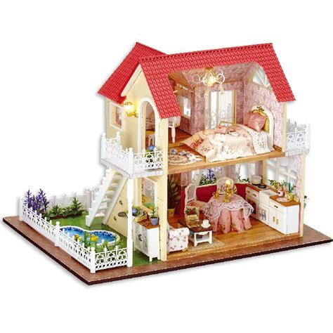 Handmade Wooden Doll Houses For Sale - aliexpress buy handmade doll house furniture