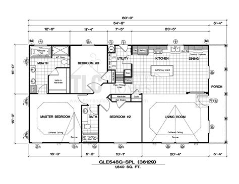 golden west manufactured homes floor plans floor plans golden west limited series tlc manufactured homes