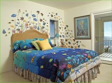 under the sea bedroom mural design ideas