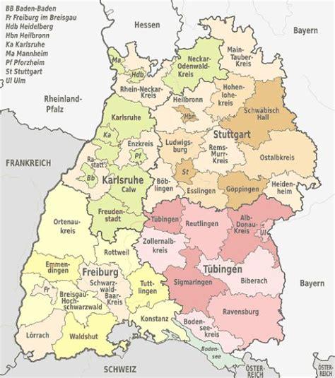 badlen günstig landkreise stadt gemeinden baden w 252 rttemberg