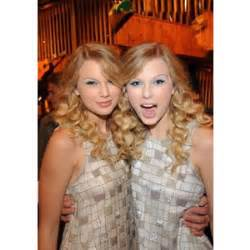 taylor swift and her twin a manip i found online polyvore