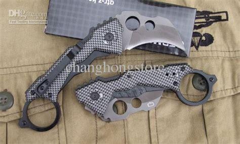 Karambit Da46 da46 cing pocket karambit knives 57hrc aluminumloy handle plained blade folding knife