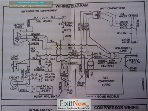 vintage refrigerator wiring diagram wiring diagram with