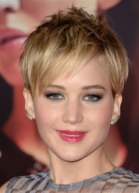 for lawrece haircut jennifer lawrence hairstyles short hair style