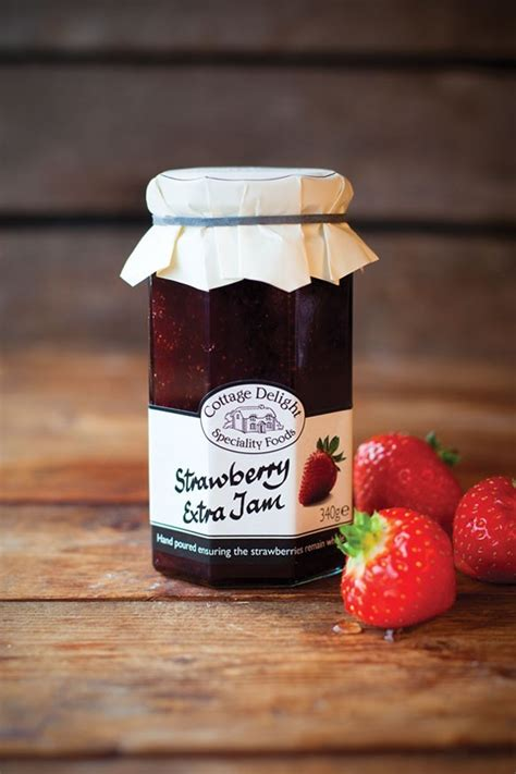 Cottage Delight Jam by Cottage Delight Strawberry Jam With Jam 340g Bosworths Shop