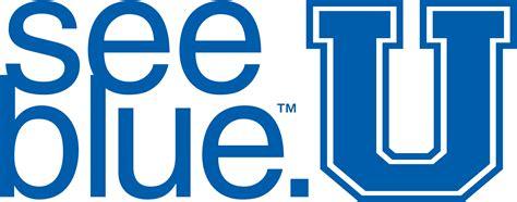 blue patterned u logo orientation dates seeblueu