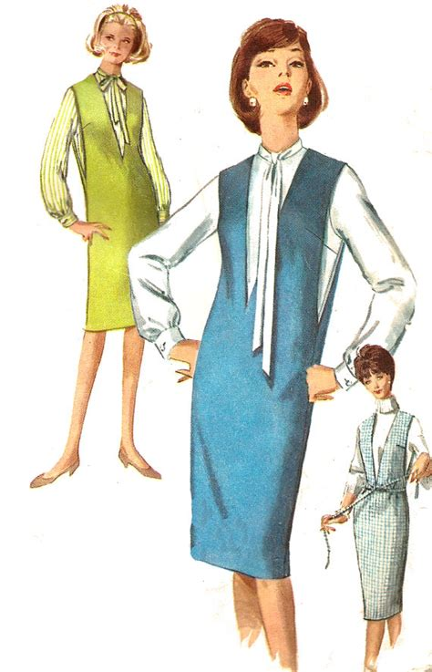 jumper pattern simplicity 1960s jumper pattern blouse simplicity sewing vintage