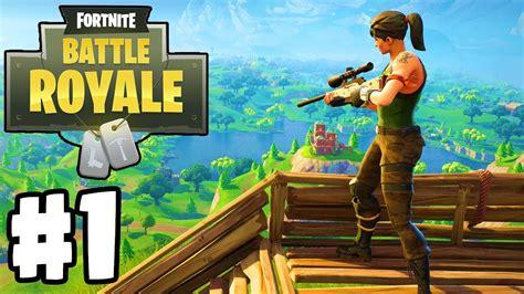 """New """"Battle Royale"""" Game   Fortnite: BATTLE ROYALE"""