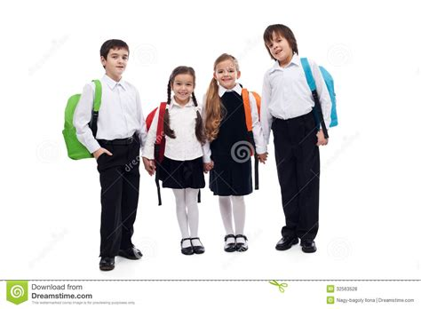 Royalty Free School Children Stock by Of Children Holding Going Back To School Stock
