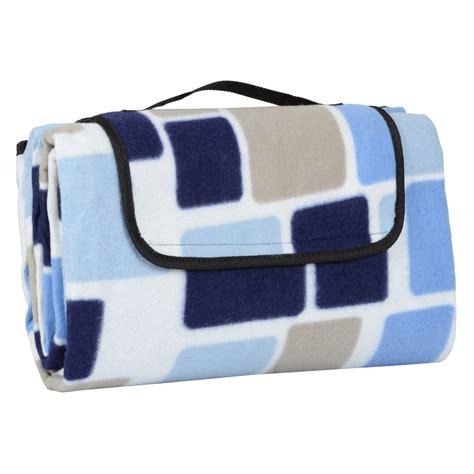 rug bag folding fleece waterproof picnic blanket outdoor mat rug carry bag 130cm x 150cm ebay