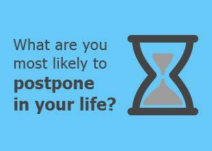 survey what goals are millennials postponing