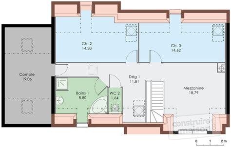 Plan Maison 4 Chambres Etage 3943 by Plan Etage Maison Ventana