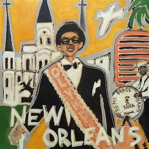 watercolor new orleans second line new orleans treme second line painting by connie kittok