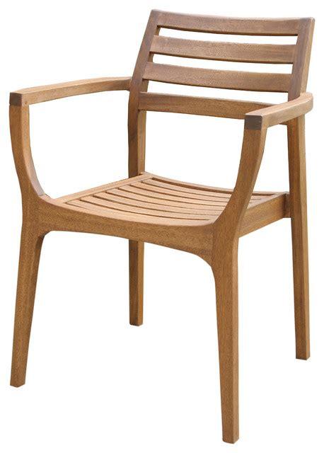 scandinavian outdoor furniture eucalyptus stacking chairs set of 4 scandinavian