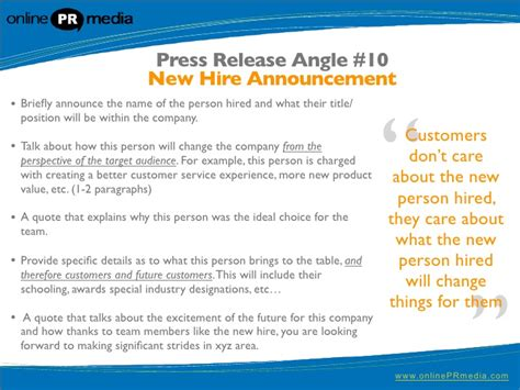 new hire press release template press release writing 10 powerful press release headline