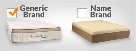 Mattress Brand Names by Best Mattressezzzgeneric Brand Mattress Vs Name Brand