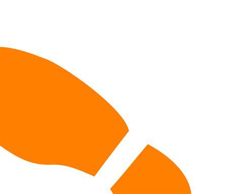 shoe print clip cliparts co