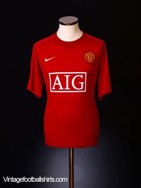 2006 2007 Manchester United Home Original Jersey Size L Ronaldo 7 2007 09 manchester united home shirt ronaldo 7 s for sale