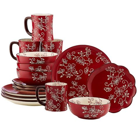 Red Kitchen Canister Sets today s special value on qvc new temp tations 174 old world