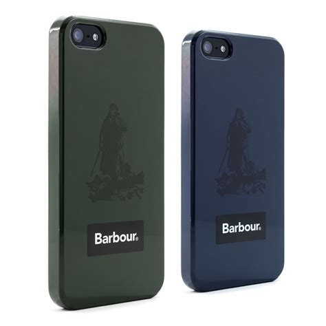 barbour iphone   case welly shell collection proporta