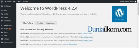 how to upgrade jquery wordpress wordpress berhasil di update duniailkom