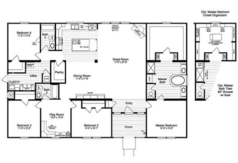 best 25 manufactured homes floor plans ideas on