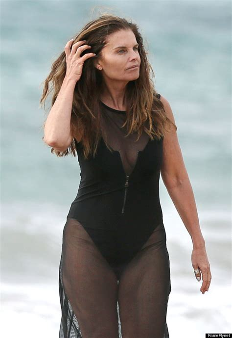 pictures of an average 57 year old woman maria shriver no makeup 57 year old sports swimsuit goes