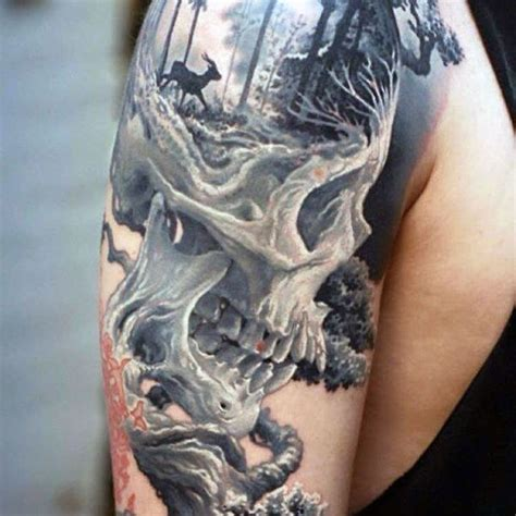 outdoor tattoos 100 nature tattoos for great outdoor designs
