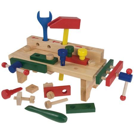 bigjigs tool bench compact workbench tools toolsets pretend diy