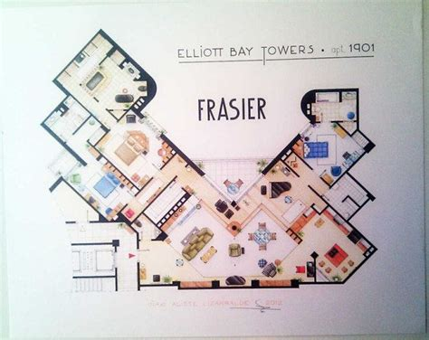 frasier crane apartment floor plan 87 best images about party floorplan on pinterest