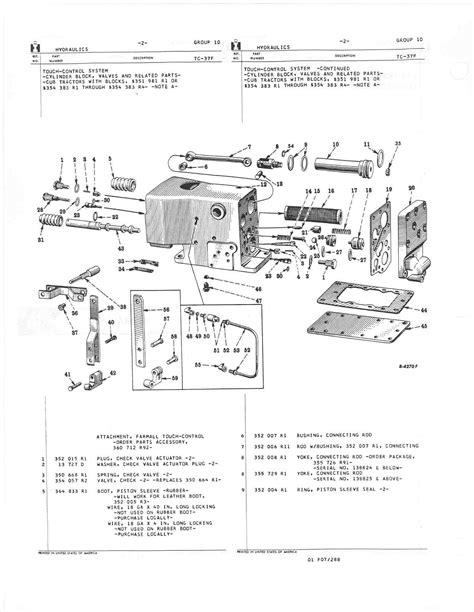 1951 cub touch control rebuild - Farmall Cub